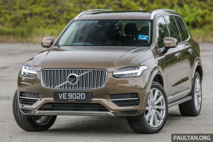 GALLERY: Volvo 90 Series trio – S90, V90 and XC90 Image #641011