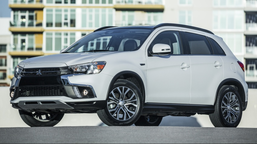 Mitsubishi ASX gets yet another facelift, debuts in NY Image #641711