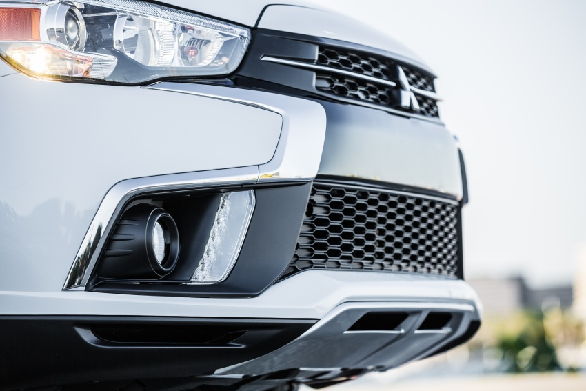 Mitsubishi ASX gets yet another facelift, debuts in NY Image #641696