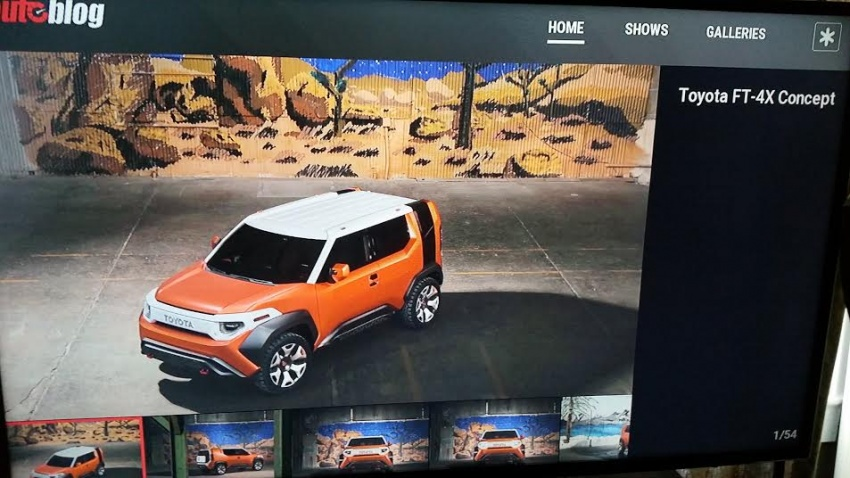 Toyota FT-4X concept revealed early before NY debut Image #643651