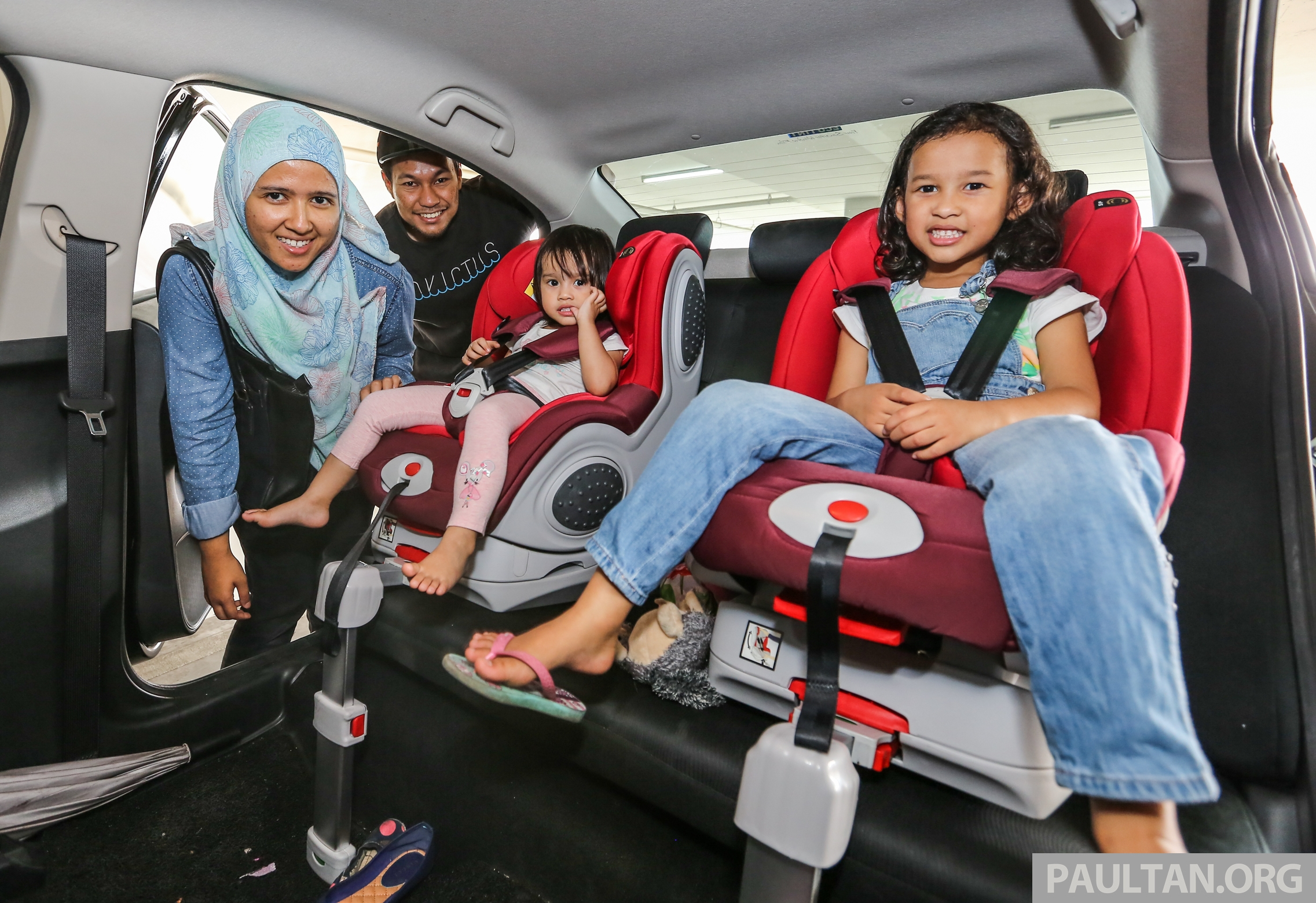 child seats from January 2020