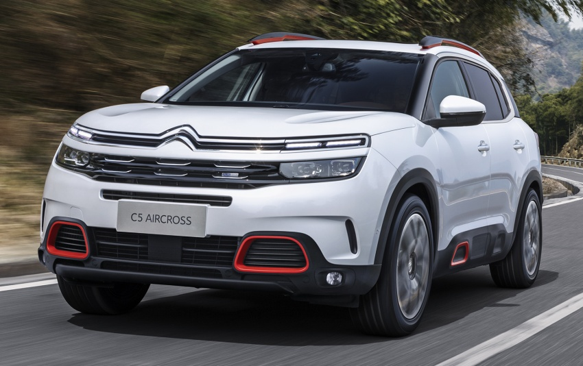 Citroen C5 Aircross – new SUV debuts in Shanghai Image #647114