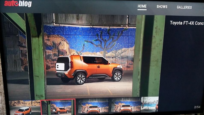 Toyota FT-4X concept revealed early before NY debut Image #643653