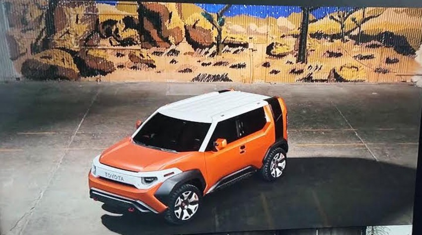 Toyota FT-4X concept revealed early before NY debut Image #643654