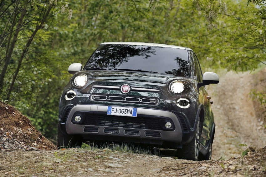 Fiat 500L MPV gets subtle facelift – new looks, tech Image #662150