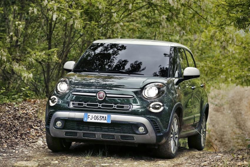 Fiat 500L MPV gets subtle facelift – new looks, tech Image #662151