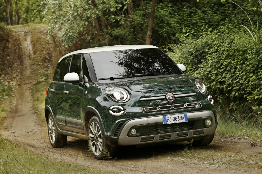 Fiat 500L MPV gets subtle facelift – new looks, tech Image #662154