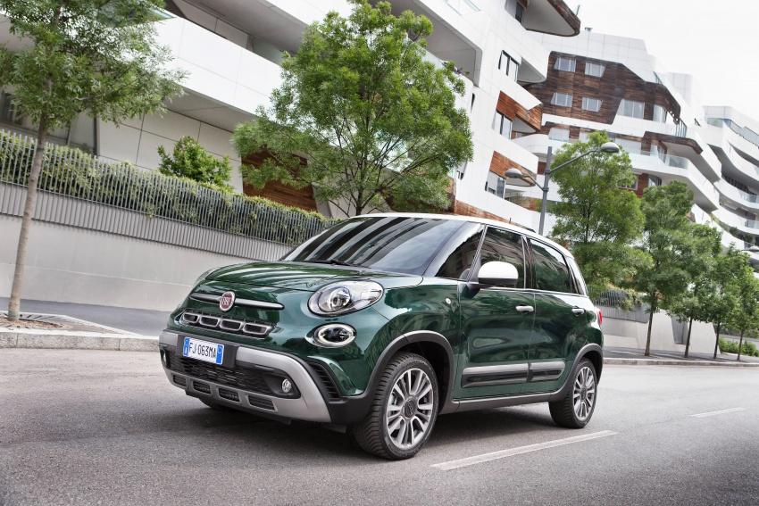 Fiat 500L MPV gets subtle facelift – new looks, tech Image #662155