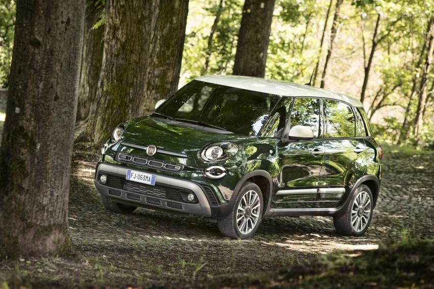 Fiat 500L MPV gets subtle facelift – new looks, tech Image #662157