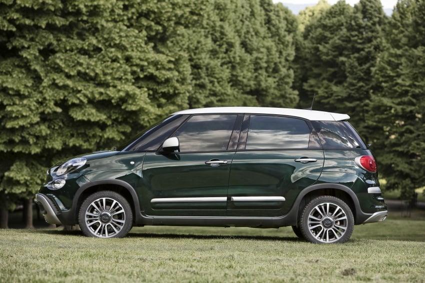 Fiat 500L MPV gets subtle facelift – new looks, tech Image #662158