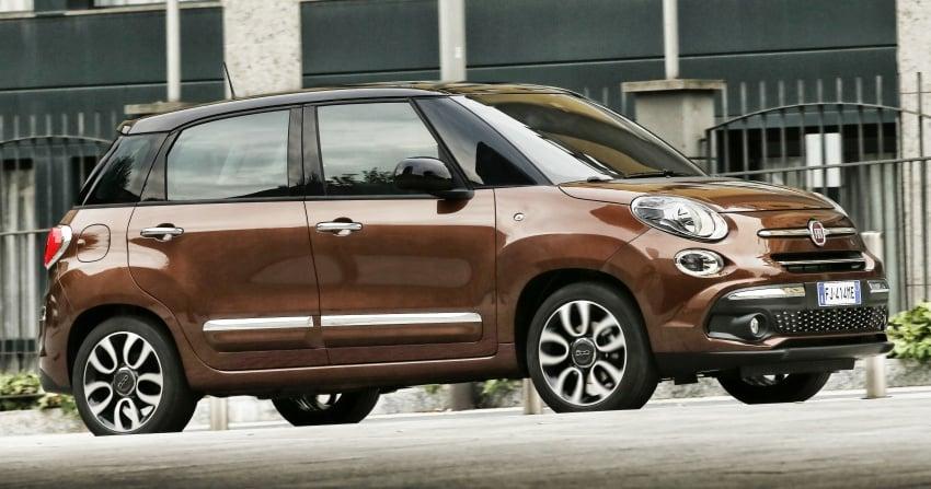 Fiat 500L MPV gets subtle facelift – new looks, tech Image #662159