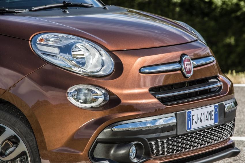 Fiat 500L MPV gets subtle facelift – new looks, tech Image #662163