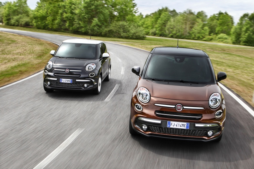 Fiat 500L MPV gets subtle facelift – new looks, tech Image #662168