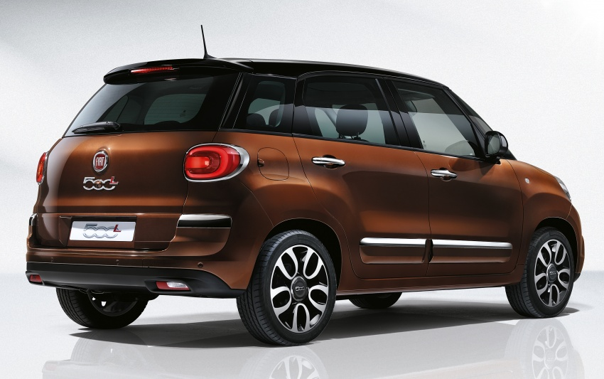 Fiat 500L MPV gets subtle facelift – new looks, tech Image #662126