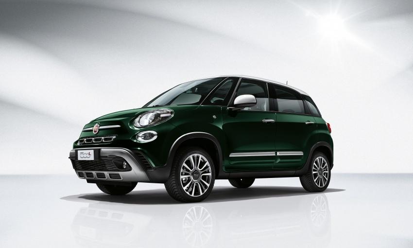 Fiat 500L MPV gets subtle facelift – new looks, tech Image #662129