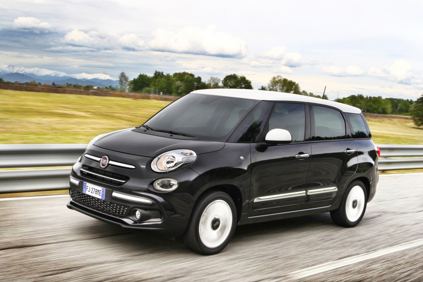 Fiat 500L MPV gets subtle facelift – new looks, tech Image #662133
