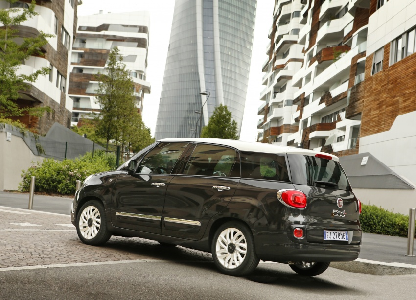 Fiat 500L MPV gets subtle facelift – new looks, tech Image #662140