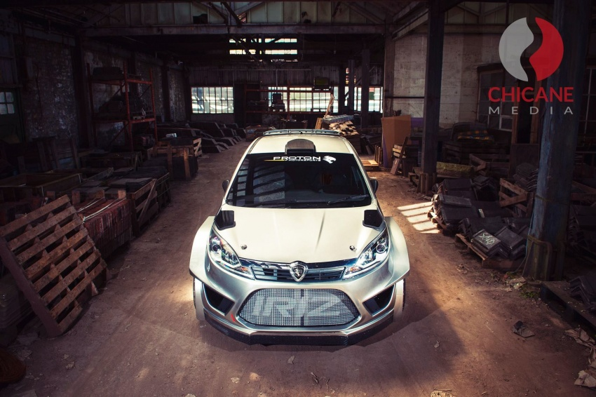Proton Iriz R5 – first official photos of new rally car Image #660625