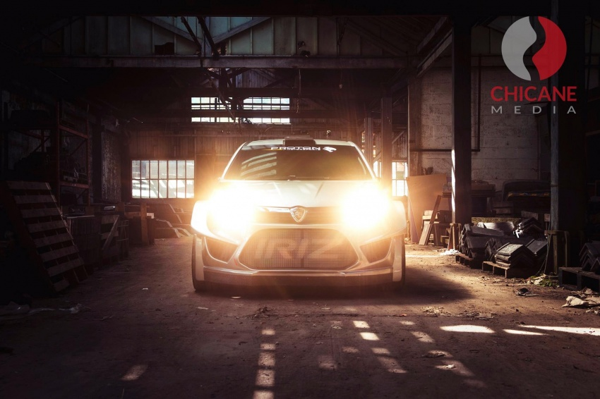 Proton Iriz R5 – first official photos of new rally car Image #660628