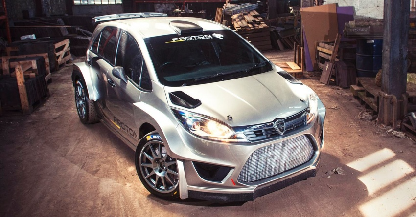 Proton Iriz R5 – first official photos of new rally car Image #660642