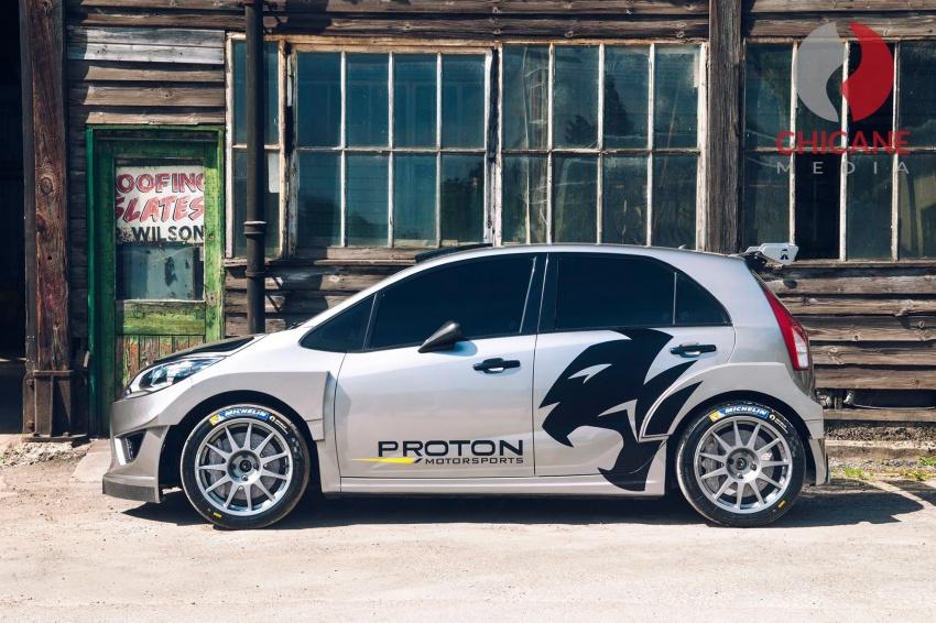 Proton Iriz R5 – first official photos of new rally car Image #660631