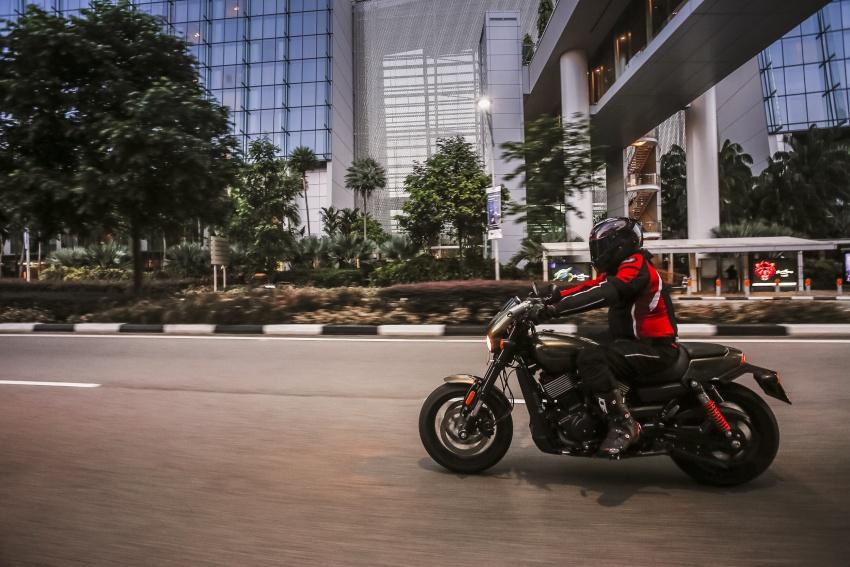 Ride impression: 2017 Harley-Davidson Street Rod 750 Image #657193