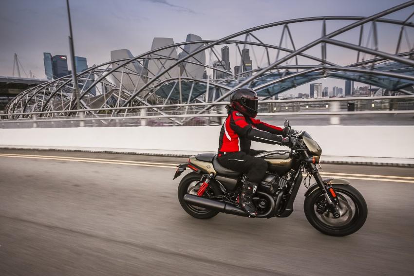 Ride impression: 2017 Harley-Davidson Street Rod 750 Image #657196