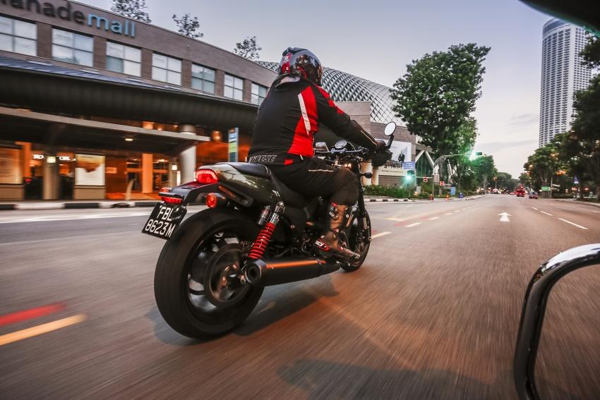 Ride impression: 2017 Harley-Davidson Street Rod 750 Image #657201