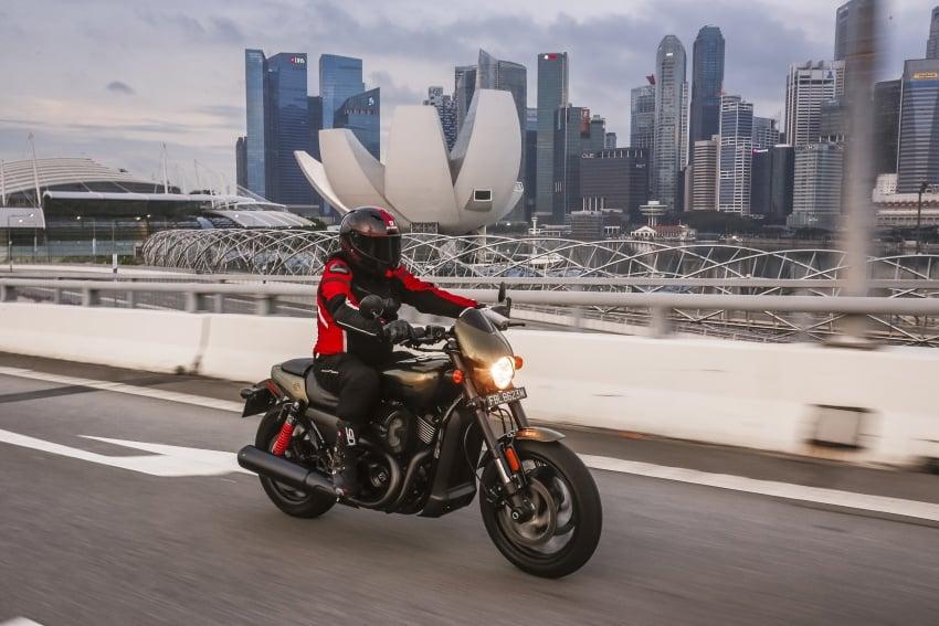 Ride impression: 2017 Harley-Davidson Street Rod 750 Image #657208
