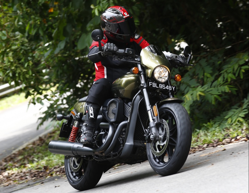 Ride impression: 2017 Harley-Davidson Street Rod 750 Image #657190