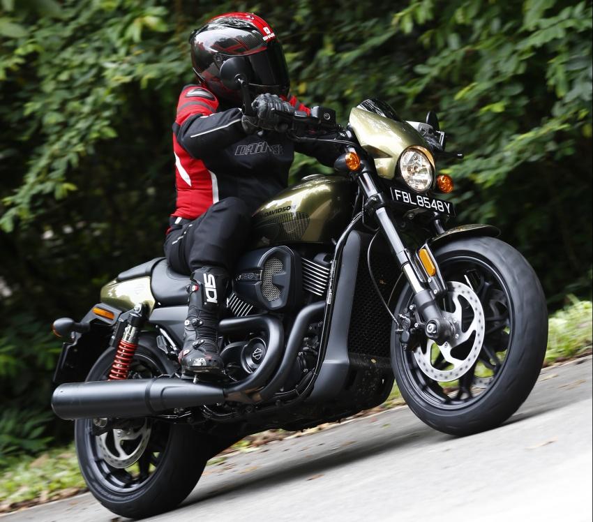 Ride impression: 2017 Harley-Davidson Street Rod 750 Image #657192
