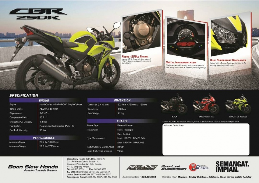 2017 Honda CBR250R in Malaysia – from RM21,940 Image #659751