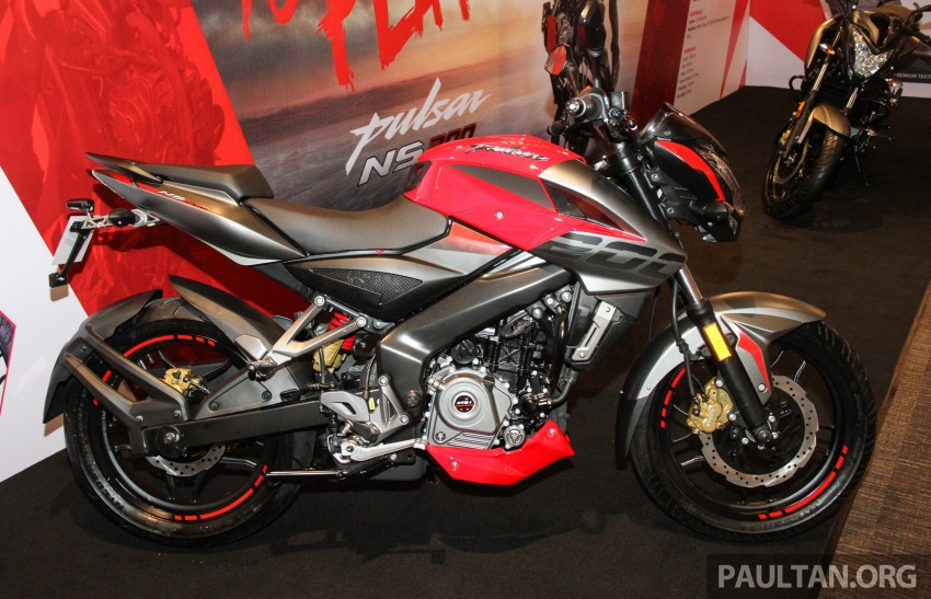 2017 Modenas Pulsar NS200 and RS200 launched – RM9,222 for NS200, RM11,342 for RS200 Image #660855