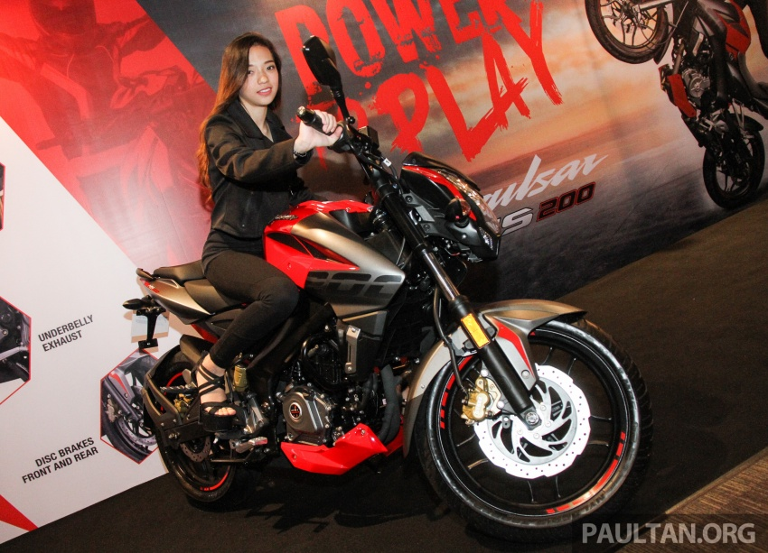 2017 Modenas Pulsar NS200 and RS200 launched – RM9,222 for NS200, RM11,342 for RS200 Image #660874