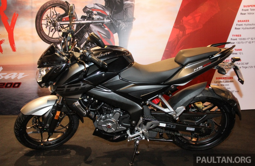 2017 Modenas Pulsar NS200 and RS200 launched – RM9,222 for NS200, RM11,342 for RS200 Image #660875
