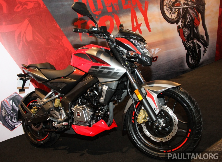 2017 Modenas Pulsar NS200 and RS200 launched – RM9,222 for NS200, RM11,342 for RS200 Image #660857