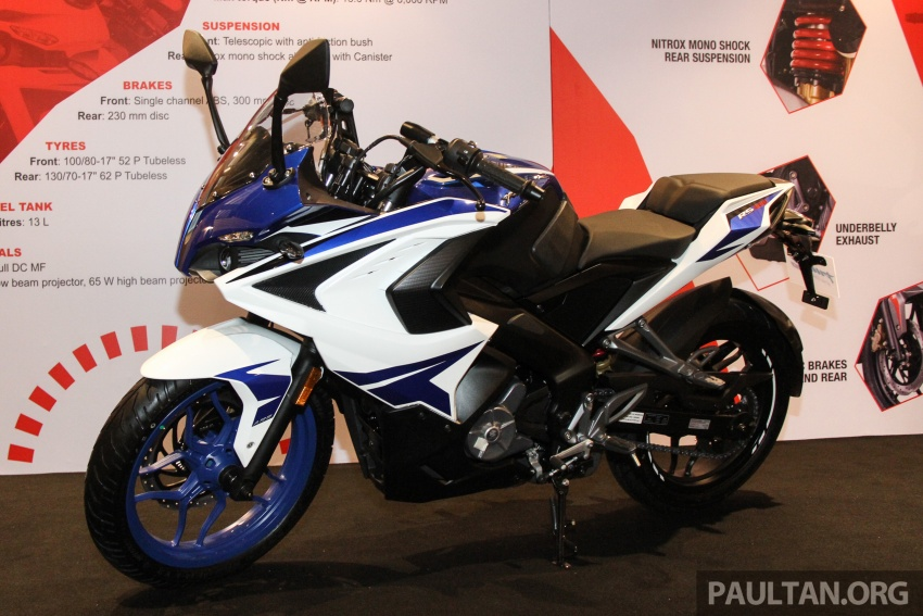 2017 Modenas Pulsar NS200 and RS200 launched – RM9,222 for NS200, RM11,342 for RS200 Image #660791