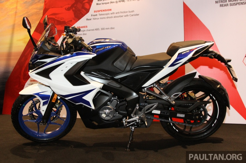 2017 Modenas Pulsar NS200 and RS200 launched – RM9,222 for NS200, RM11,342 for RS200 Image #660792