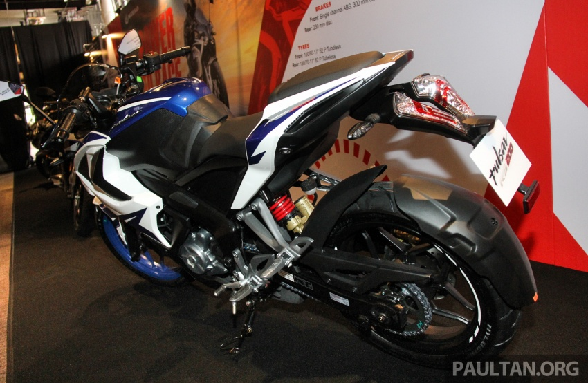 2017 Modenas Pulsar NS200 and RS200 launched – RM9,222 for NS200, RM11,342 for RS200 Image #660836