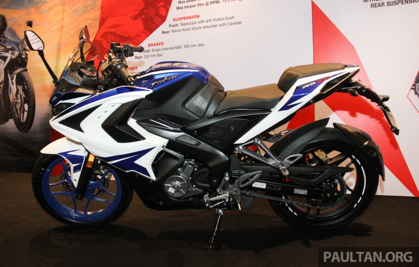 2017 Modenas Pulsar NS200 and RS200 launched – RM9,222 for NS200, RM11,342 for RS200 Image #660838