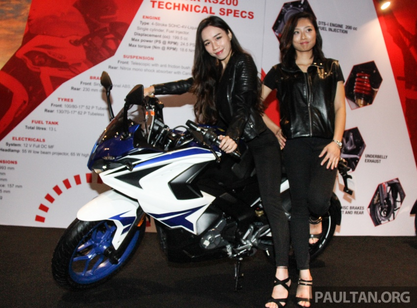 2017 Modenas Pulsar NS200 and RS200 launched – RM9,222 for NS200, RM11,342 for RS200 Image #660842