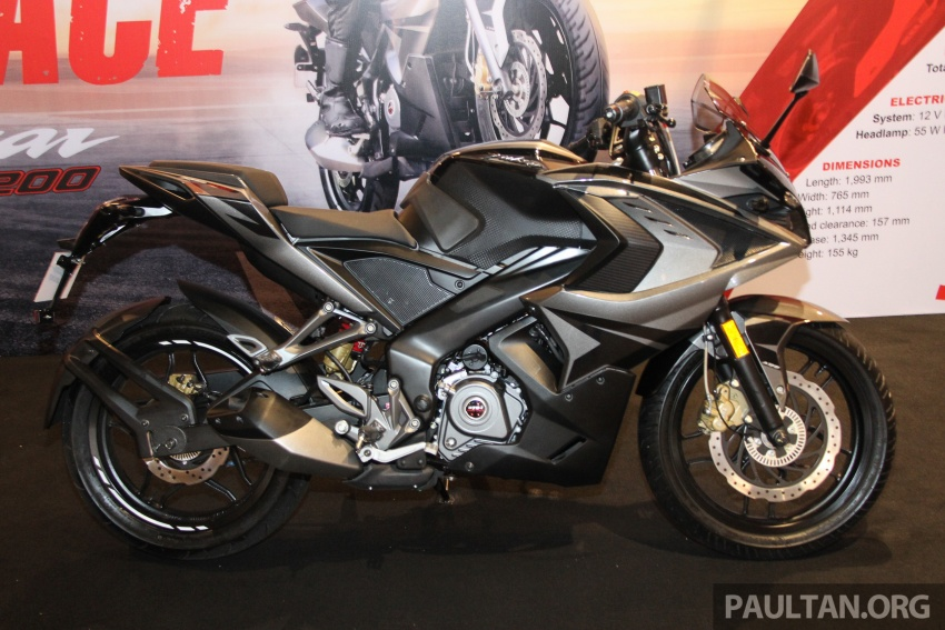 2017 Modenas Pulsar NS200 and RS200 launched – RM9,222 for NS200, RM11,342 for RS200 Image #660795