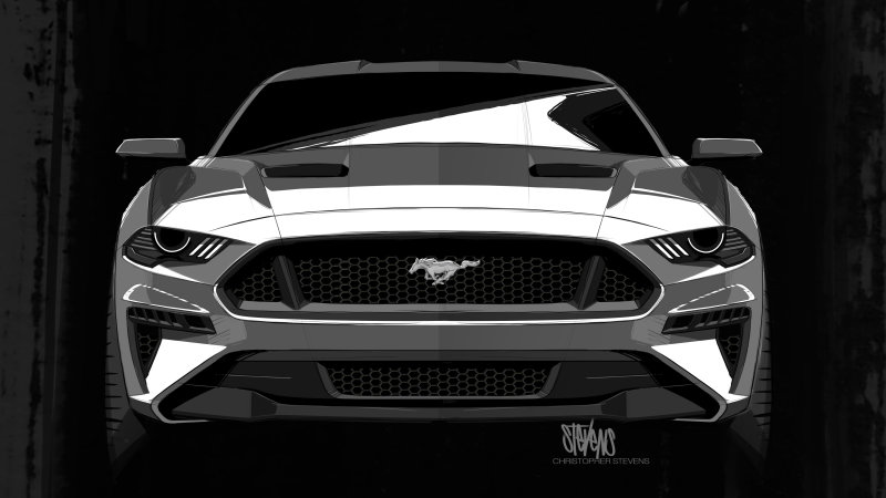 2018 Ford Mustang's nose – inspired by Darth Vader Image #655478
