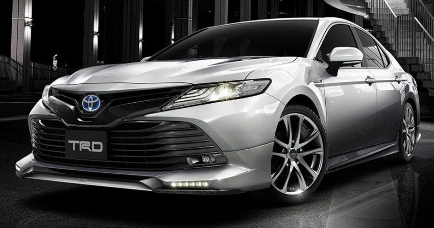2018 Toyota Camry Styling Kits From Trd Modellista