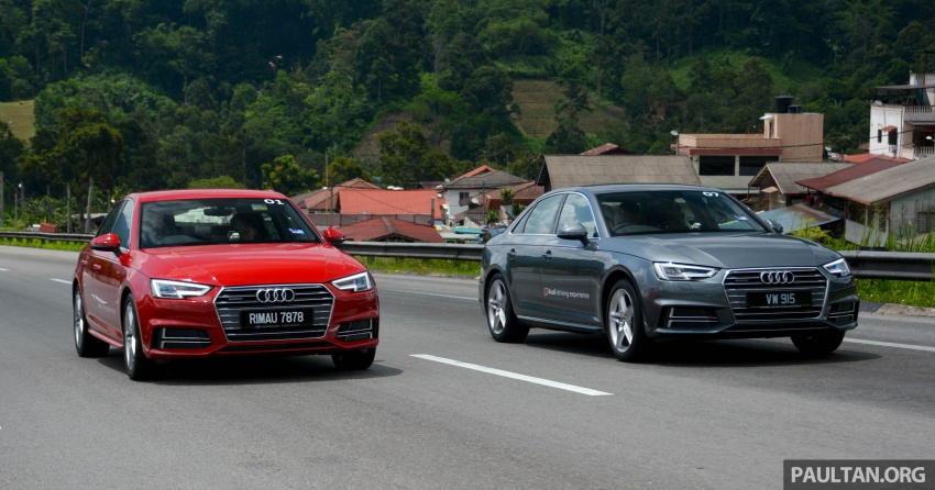 DRIVEN: B9 Audi A4 – 1.4 TFSI, 2.0 quattro sampled Image #666226