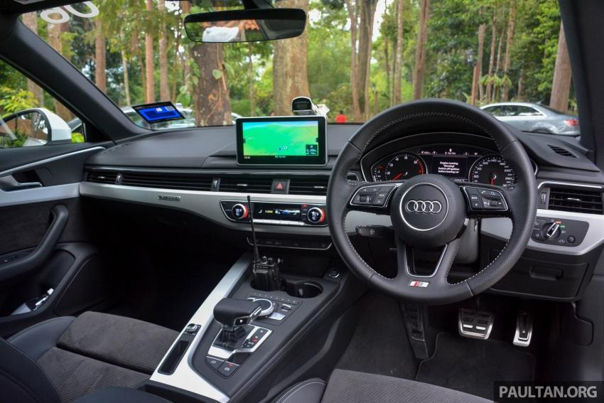 DRIVEN: B9 Audi A4 – 1.4 TFSI, 2.0 quattro sampled Image #666235