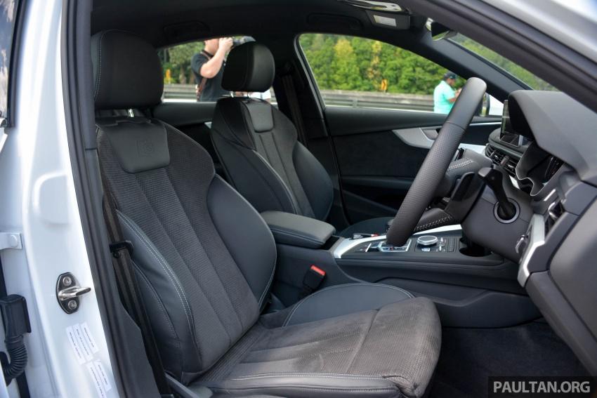 DRIVEN: B9 Audi A4 – 1.4 TFSI, 2.0 quattro sampled Image #666236