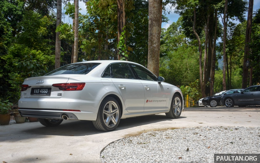 DRIVEN: B9 Audi A4 – 1.4 TFSI, 2.0 quattro sampled Image #666248