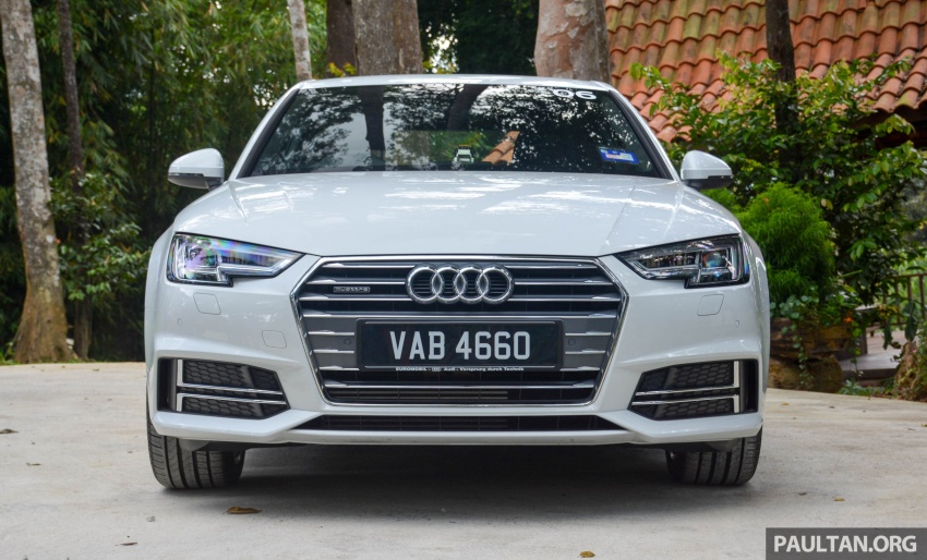 DRIVEN: B9 Audi A4 – 1.4 TFSI, 2.0 quattro sampled Image #666250