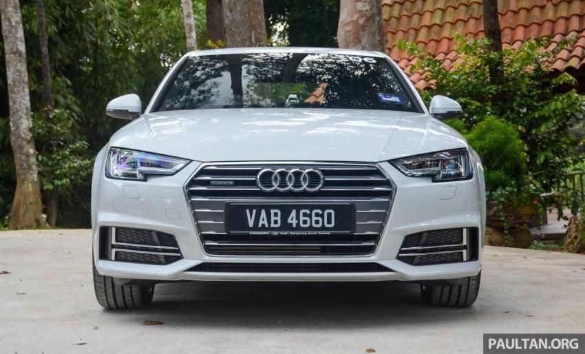 DRIVEN: B9 Audi A4 – 1.4 TFSI, 2.0 quattro sampled Image #666250